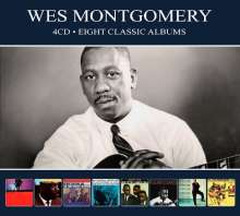 Wes Montgomery (1925-1968): Eight Classic Albums, 4 CDs