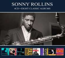 Sonny Rollins (geb. 1930): Eight Classic Albums, 4 CDs