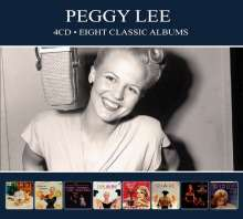 Peggy Lee (1920-2002): Eight Classic Albums, 4 CDs