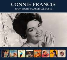 Connie Francis: Eight Classic Albums, 4 CDs