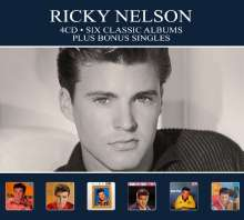 Rick (Ricky) Nelson: Six Classic Albums, 4 CDs