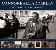 Cannonball Adderley (1928-1975): Eight Classic Albums, 4 CDs