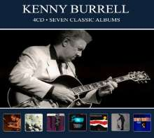Kenny Burrell (geb. 1931): Seven Classic Albums, 4 CDs