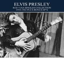 Elvis Presley (1935-1977): USA Singles Collection 1954 - 1962 Plus Bonus EPs, 4 CDs