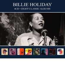 Billie Holiday (1915-1959): 8 Classic Albums, 4 CDs