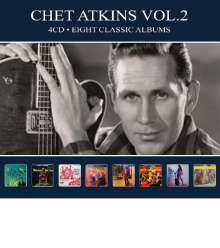 Chet Atkins: Eight  Classic Albums Vol. 2, 4 CDs