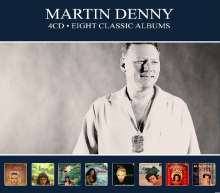 Martin Denny (1911-2005): Eight Classic Albums, 4 CDs