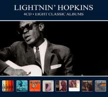 Sam Lightnin' Hopkins: Eight Classic Albums, 4 CDs