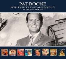 Pat Boone: Eight Classic Albums Plus, 4 CDs