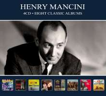 Henry Mancini (1924-1994): Eight Classic Albums, 4 CDs