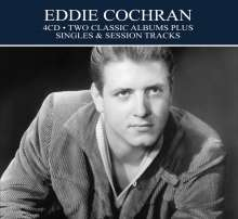 Eddie Cochran: Two Classic Albums Plus Singles & Session Tracks, 4 CDs