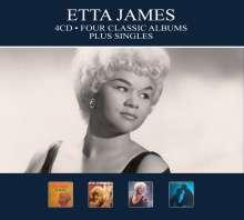 Etta James: Four Classic Albums Plus Singles, 4 CDs