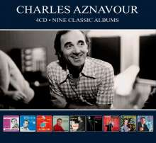 Charles Aznavour: Nine Classic Albums, 4 CDs
