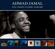 Ahmad Jamal (geb. 1930): Eight Classic Albums, 4 CDs