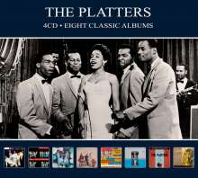 The Platters: Eight Classic Albums, 4 CDs