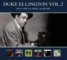 Duke Ellington (1899-1974): Six Classic Albums Vol.2, 4 CDs