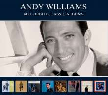 Andy Williams: Eight Classic Albums, 4 CDs
