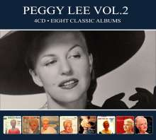 Peggy Lee (1920-2002): Eight Classic Albums.., 4 CDs