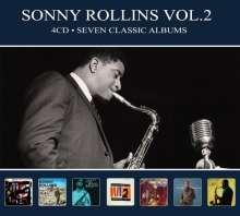 Sonny Rollins (geb. 1930): Seven Classic Albums Vol.2, 4 CDs