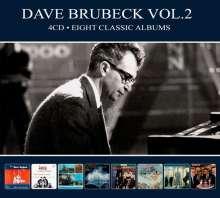 Dave Brubeck (1920-2012): Eight Classic Albums Vol.2, 4 CDs