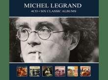 Michel Legrand (1932-2019): Filmmusik: Six Classic Albums, 4 CDs