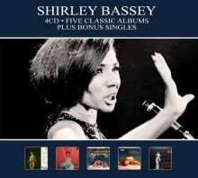 Shirley Bassey: Five Classic Albums Plus Bonus Singles, 4 CDs