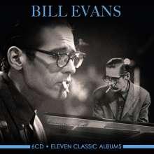 Bill Evans (Piano) (1929-1980): Eleven Classic Albums, 6 CDs