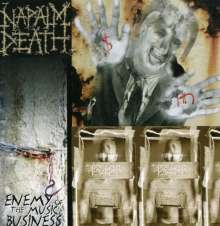 Napalm Death: Enemy Of The Music Business, CD