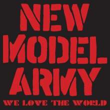 New Model Army: We Love The World: Live 2003, 1 CD und 1 DVD