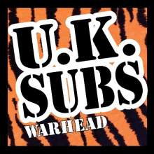 UK Subs: Warhead: At The Marquee 2002 (CD + DVD), 1 CD und 1 DVD