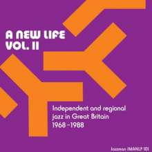 A New Life Vol.II: Independent And Regional Jazz In Great Britain 1968 - 1988, 2 LPs