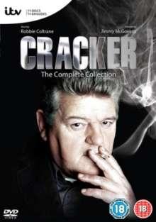 Cracker Season 1-4 (Complete Collection) (UK Import), 11 DVDs
