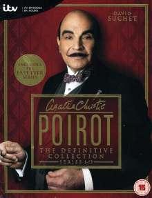 Poirot Season 1-13 (UK-Import), 35 DVDs