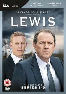 Lewis - The Complete Season 1-9 (UK Import), 19 DVDs