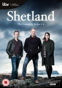 Shetland Season 1-4 (UK-Import), 6 DVDs