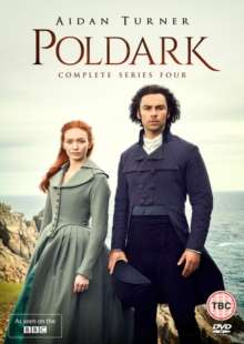 Poldark Season 4 (UK-Import), 3 DVDs