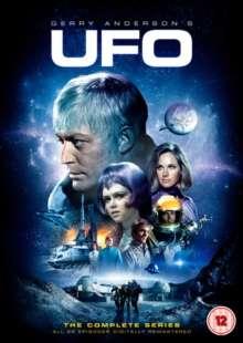 UFO Season 1 & 2 (UK Import), 8 DVDs