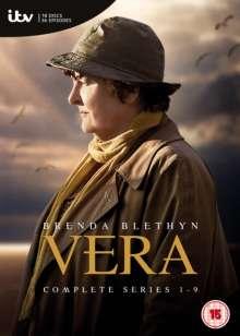 Vera Staffel 1-9 (UK Import), 18 DVDs