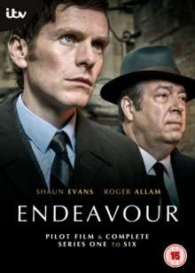 Endeavour Season 1-6 (UK Import), 14 DVDs