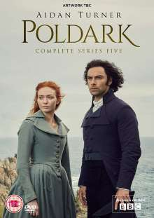 Poldark Season 5 (UK-Import), 3 DVDs