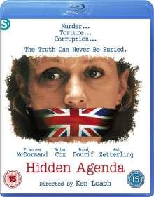 Hidden Agenda (1990) (Blu-ray) (UK Import), Blu-ray Disc