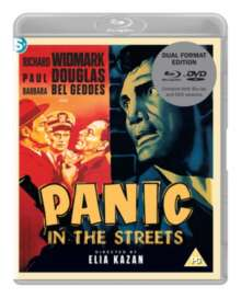 Panic In The Streets (1950) (Blu-ray & DVD), 1 Blu-ray Disc und 1 DVD