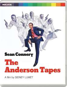The Anderson Tapes (1970) (Blu-ray & DVD) (UK Import), 2 Blu-ray Discs