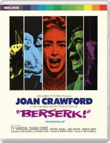 Berserk (1967) (Blu-ray) (UK Import), Blu-ray Disc