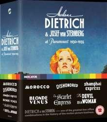 Marlene Dietrich & Josef von Sternberg at Paramount 1930-1935 (Blu-ray) (UK Import), 6 Blu-ray Discs