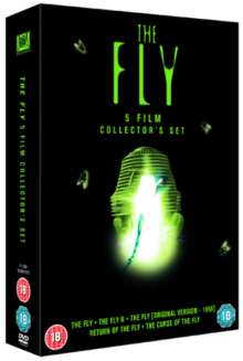 The Fly (Ultimate Five Film Collector's Set) (UK Import), 5 DVDs