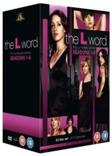 The L-Word Season 1-6 (UK Import), 4 DVDs