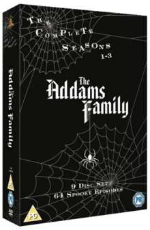 The Addams Family - The Complete Collection (UK Import), 9 DVDs