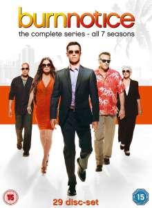 Burn Notice Season 1-7 (UK-Import), 29 DVDs