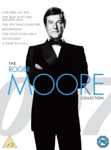 The Roger Moore Collection (UK Import), 7 DVDs